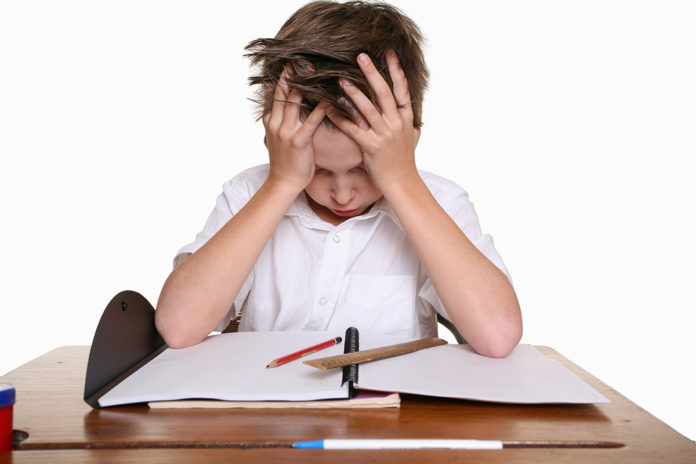 child_fedup_with_exam
