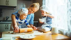 children-at-kitchen